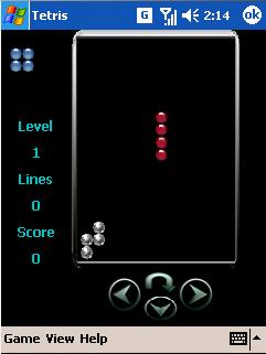 free TeKnowMagic Tetris for windows mobile phone