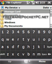 free Touch keyboard for windows mobile phone