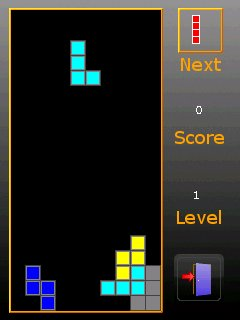 free Touchtris for windows mobile phone