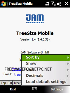 TreeSize Mobile helps you to find unwanted big folders and files and enables you to remove them.