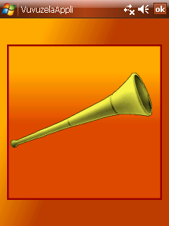VuvuzelaAppli free download for Windows Mobile phone