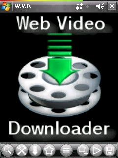 W.V.D. Web Video Downloader free download for Windows Mobile phone