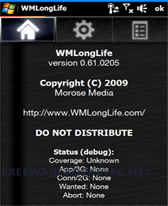 free WMLongLife for windows mobile phone