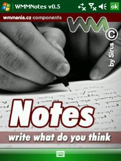 free WMM Notes for windows mobile phone