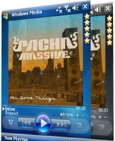 free Windows Media Player Reloaded Skin for windows mobile phone