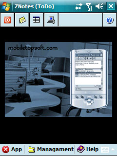free ZNotes v0.36 for windows mobile phone