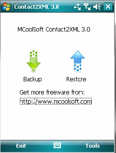 free Contact2XML 3.0 for windows mobile phone