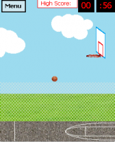 free Basketball for windows mobile phone