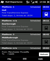 free Blackbirdapps UK Live Departures for windows phone