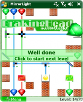 free BrakingHead-MirrorLight for windows mobile phone