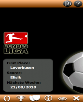 free Bundesliga Pocket 2010 for windows mobile phone