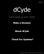 free dCyde for windows mobile phone