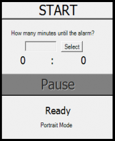 free Countdown Alarm for windows mobile phone