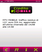 free CreditoMTV for windows mobile phone