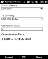 free CurrencyConv for windows phone