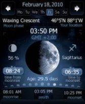 free Deluxe Moon for windows mobile phone