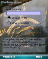 free Dict-Navi Mobile - Translator between german and navi for windows mobile phone