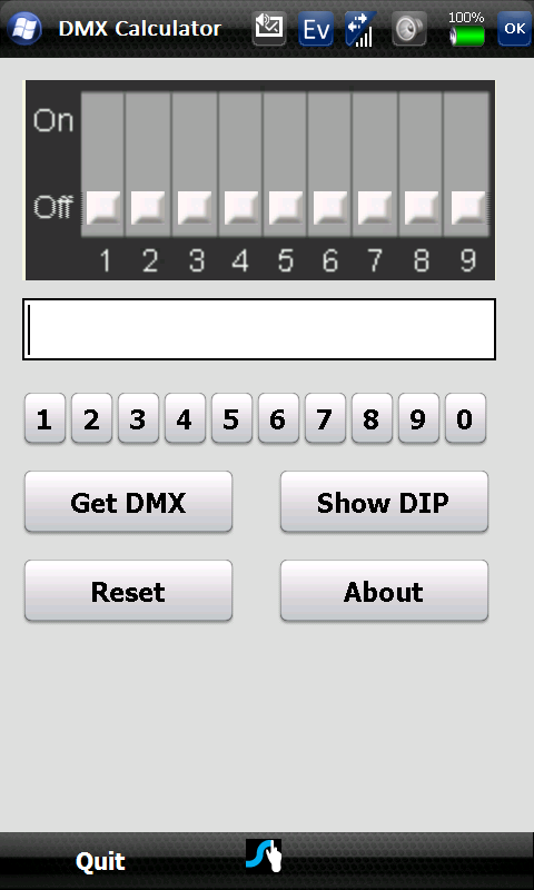Dmx Calculator Windows Mobile Phone Pocket Pc Freeware