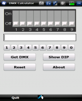 free DMX Calculator for windows mobile phone