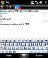 free fim - Facebook Instant Messenger for windows mobile phone