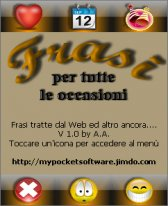 free FRASI-per tutte le occasioni- for windows mobile phone