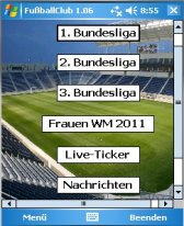 free FussballClub  for windows mobile phone