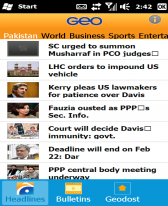 free Geo News for windows mobile phone