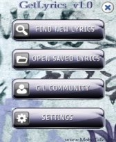 Get Lyrics of Songs free download for Windows Mobile phone