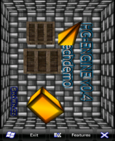 free HG-Engine v0.4 techdemo for windows mobile phone