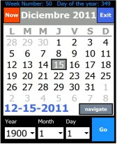 free Laucha Calendario for windows mobile phone