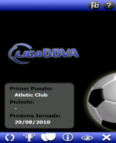 free Liga BBVA Pocket 10 for windows mobile phone