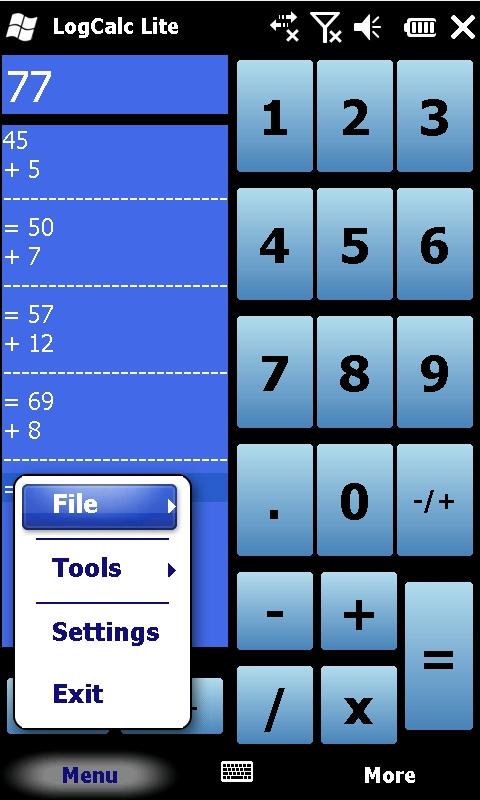 LOGCALC - Calculatrice avec affichage des opérations Logcalc.2