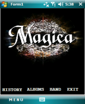 free Magica Band App for windows mobile phone