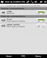 free Manila DialUp Enabler Disabler for windows mobile phone