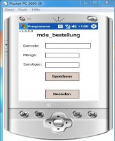 free MdeBestellung for windows mobile phone