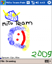 free MiTo Team Paint for windows mobile phone