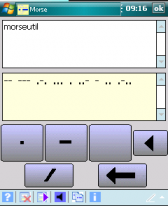 free MorseUtil for windows mobile phone