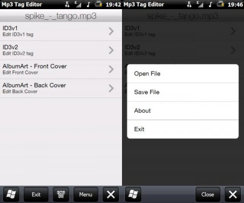 Mp3 Tag Editor v2 00 freeware for Windows Mobile Phone