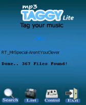 free Mp3 Taggy Lite v1.0 for windows mobile phone