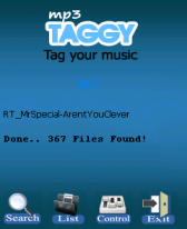 free Mp3 Taggy for windows mobile phone