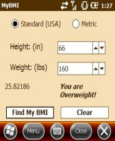 free Finesse - MyBMI2 for windows mobile phone