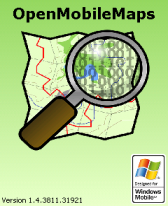 free OpenMobileMaps for windows mobile phone