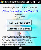 free PIT Calculator for windows mobile phone
