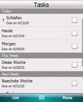 free SenseTasks for windows mobile phone