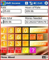 free Shift Income Mobile for windows mobile phone