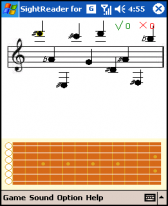 free Sight-Reading Helper For Guitar for windows mobile phone