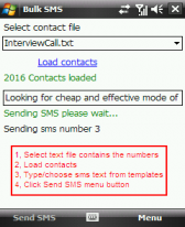 free SMS 3.0 for windows mobile phone