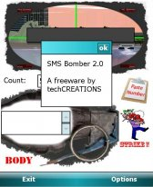 SMS Bomber free download for Windows Mobile phone