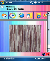 free Stripe Cube Animated Theme for windows mobile phone