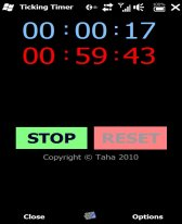 free Ticking Timer 2.20 for windows mobile phone